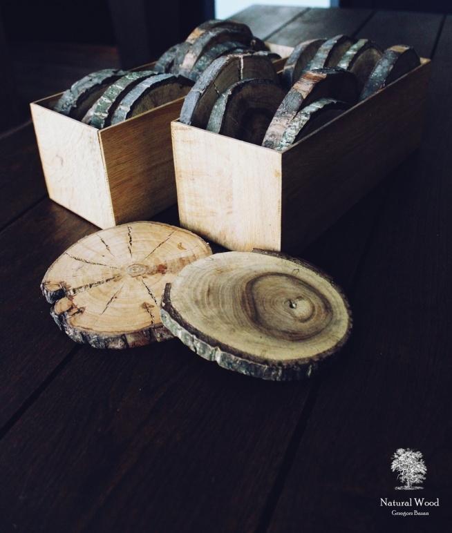 Naturalne drewniane podkładki idealne pod gorący kubek, szklankę  ☕ Ale także pod wazon, świeczkę czy małego kwiatka w doniczce