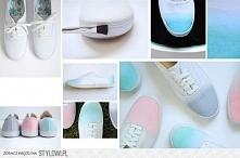Farbowanie końcówek butów