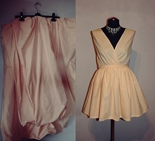 Postanowiłam skrócić sukienkę którą uszyłam jakiś czas temu i pokazałam wam w...