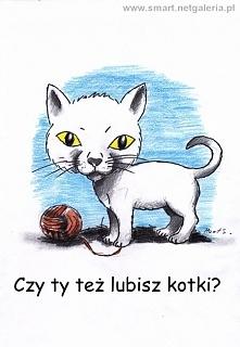 "Rysunek pt: ""Kotek""."