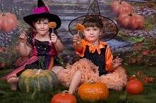 dyniowo halloweenowa sesja