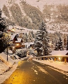 Od samego oglądania czuje święta <3 Piękna zimowa Szwajcaria <3