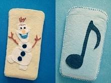 pokrowce na telefon :) FILC nutka i Olaf z krainy lodu ;)