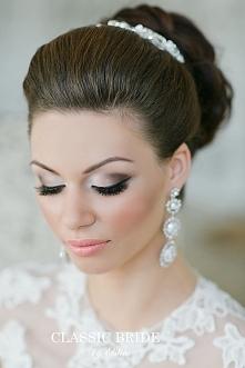 Przepiękny makijaż ślubny