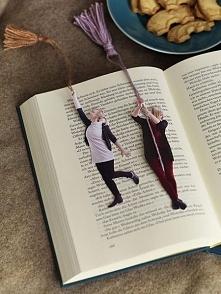 zakładka do książki z własną osobą. wystarczy zrobić sobie zdjęcie, wydrukowa...