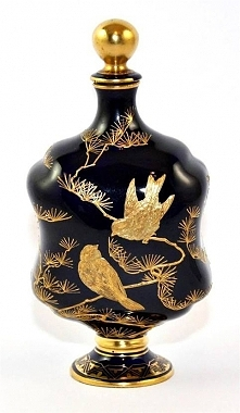 Perfume Bottle, Coalport, Aesthetic Movement, ca. 1870/80.