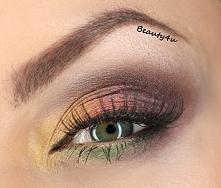 jesienny makijaz