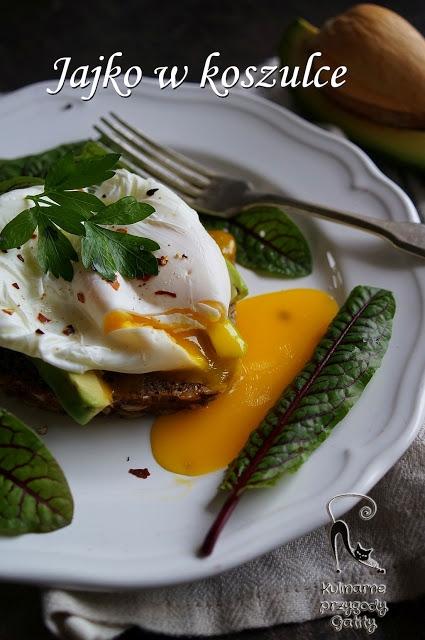 Jajko w koszulce, jajko poszetowe z awokado