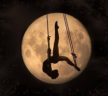 And, something magical...'Moon Ballerina; by Andreea Radu via Flickr.