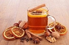 Jesienna herbata idealna na taką pogodę jak dziś :)