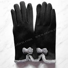 Śliczne - rękawiczki z kokardką - sklep OTIEN - kliknij zdjęcie