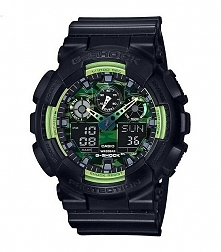 Męski zegarek CASIO G-shock GA-100LY-1AER wodoodporny i wielofunkcyjny  Możliwość zakupu, link w komentarzu :)