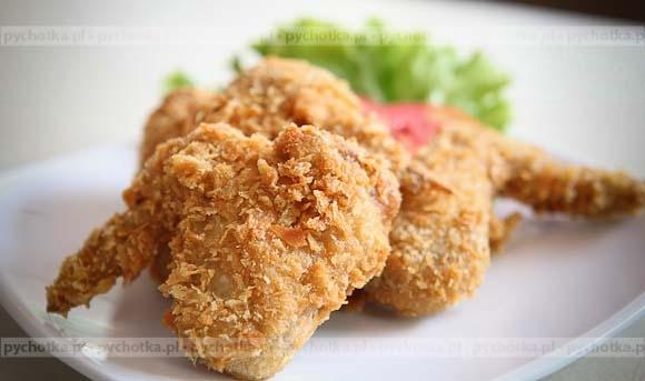 Skrzydełka z kurczaka ala KFC