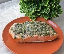 Filet z łososie w aromatycznym sosie