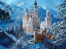 Zamek Neuschwanstein -Niemcy