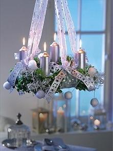 Pomysł na świąteczne oświetlenie wnętrza.