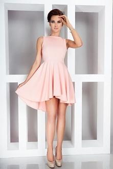 pudrowa sukienka :*