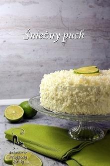 Ciasto śnieżny puch z limonką