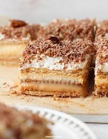 Ciasto 3bit SKŁADNIKI 20 PORCJI 500 g herbatników* 1 puszka (ok. 500 g) masy ...