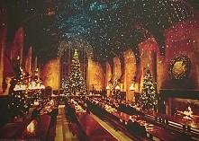 Świątecznie w Hogwarcie :3