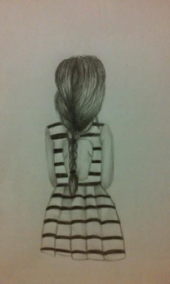 Dziewczyna w sukience.
