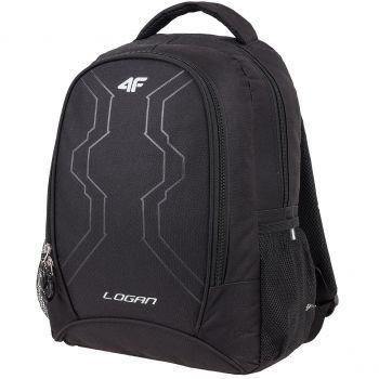 sportkometka plecak sportowy 4f czarny pojemny duży A4