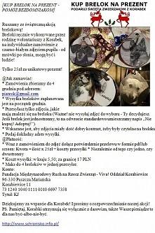 Moja akcja charytatywna na rzecz schroniska w Korabiewicach. Zapraszam