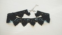 Black Choker ❤ Satin lace S-M- L ❤❤❤