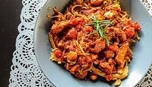Spaghetti z kurczakiem i bo...