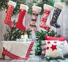 Magiczny czas, wystrój świąteczny, skarpety, poduszki.. Święta :)