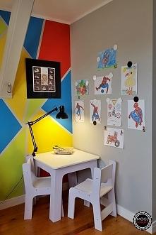 Kącik/biurko w pokoju dziec...