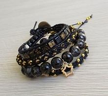 Zestaw elegancki black & gold