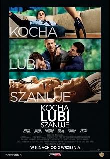 Kocha, Lubi, Szanuje - bardzo fajna komedia, sexy Gosling i niesamowita Emma Stone ze swoimi wielkimi oczami i niskim głosem :D