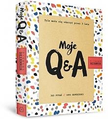 """""""Moje Q&A"""" to dziennik,  który towarzyszy podarowanemu przez tr..."""