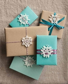 Każdy prezent musi być ładnie zapakowany :)