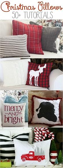Poduszki ze świątecznym motywem wprowadzą nas w klimat świąt.