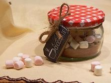 Gorąca czekolada w słoiku
