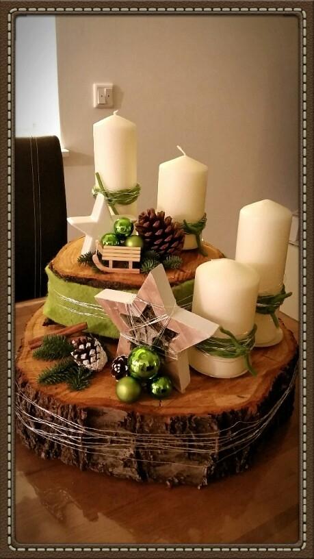 Dekoracja świąteczna przypięte z Pinterest