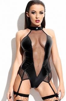 Demoniq Agnes body Seksowne body, wykonane z elastycznego materiału typu weetlook, świetnie podkreśla kobiecą figurę