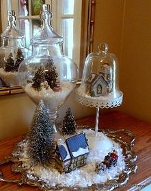 Dekoracja świąteczna -inspiracja źródło:hometalk.com