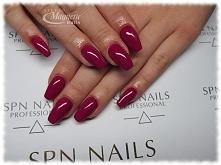 Jesienna fuksja SPN   Nails by Olga, Studio Magnetic Nails Monika SOkołowska, SPN Team
