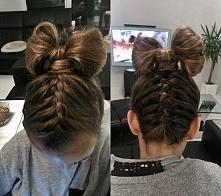 Kolejna fryzura zrobiona siostrze :)