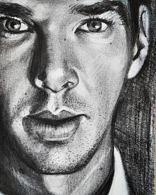 Fanart :) Benedict Cumberbatch ołówkiem.