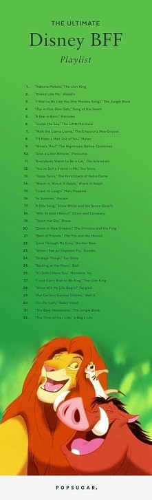 Disney BFF Playlist