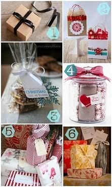 jak zapakować prezenty :)