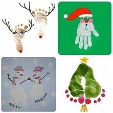 Inspiracja na kartki świąte...