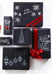 pomysł jak zapakować świąte...