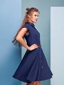 Przepiękna sukienka z naturalnego lnu dostępna u nas w różnych odcieniach! :)  Więcej na thecovershop.pl