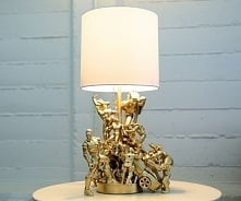 Coś dla wiecznych dzieci, czyli naszych facetów :) Lampka nocna z figurkami s...