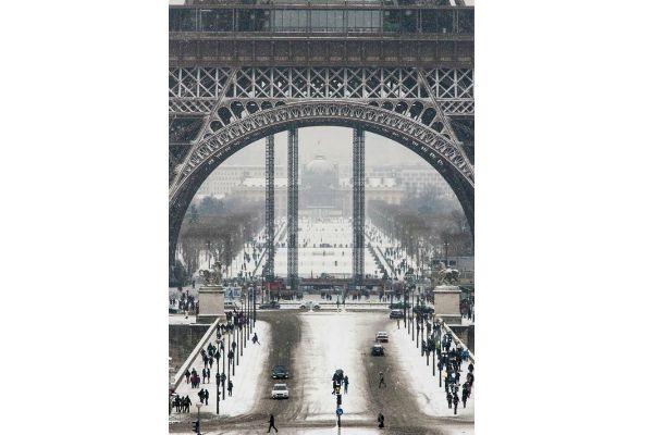 Paryż zimową porą